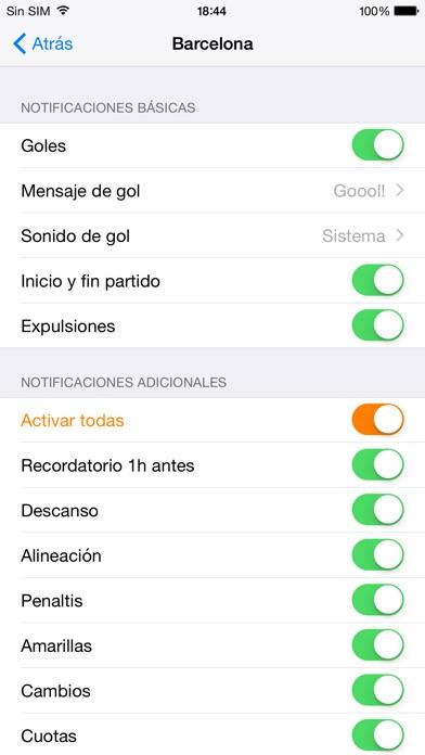 download Goles Messenger - Alertas instantáneas de fútbol apps 2