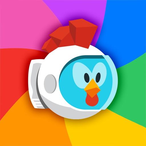 Cosmic Chicken - Adventures in Space iOS App
