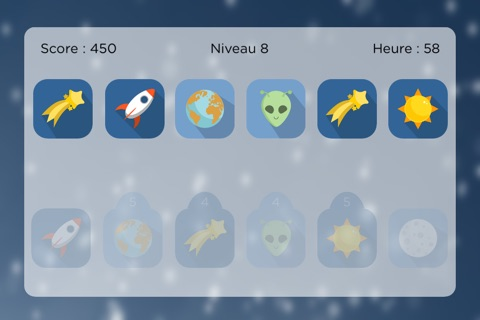 Space Match - Free Memory Game screenshot 2