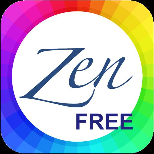 Zen Clock Free - Live Desktop Wallpaper