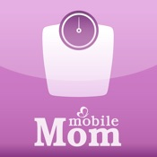 Pregnancy Weight Calculator & Baby Bump Weight Gain from Mobile Mom Mobile App Icon
