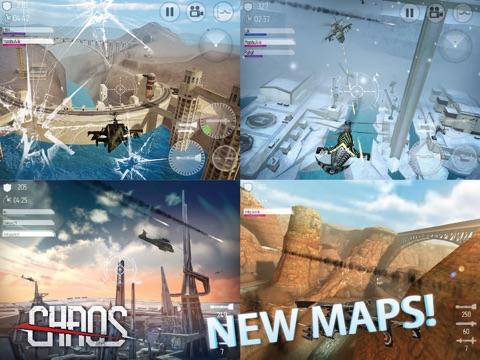 Игра CHAOS - Мультиплеер Вертолетный Симулятор 3D