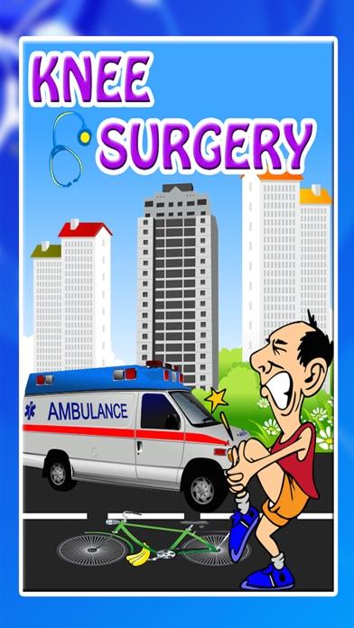 膝の手術 - クレイジー小さな外科医のための仮想医師&病院のゲームのスクリーンショット1