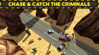 Screenshots of 3D Police Drag Racing Driving Simulator Game: Race The Real Turbo Chase for iPhone