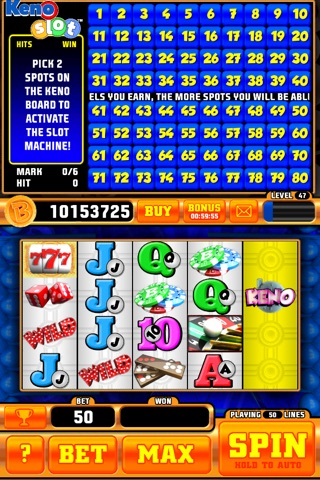 Keno Slot Pro screenshot 2