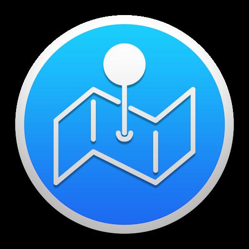 Coordinates : Latitude and Longitude Finder + Distance Calculator for Mac