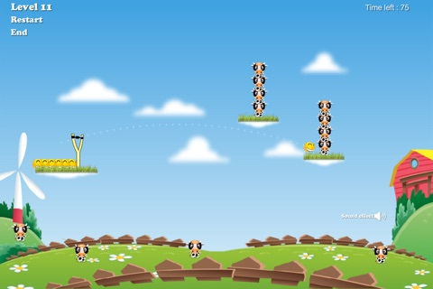 Happy Cow Tipping Game screenshot 4