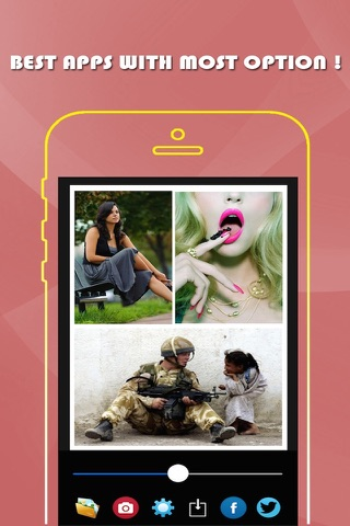 Smart Image Editor- A Beautiful Mess with Color & Effects For Twitter & Facebook Free screenshot 2