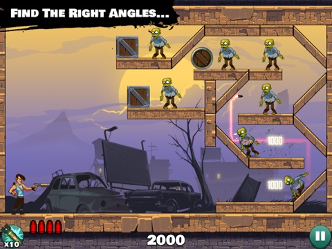 Stupid Zombies: Gun shooting fun with shotgun, undead horde and physics Screenshot