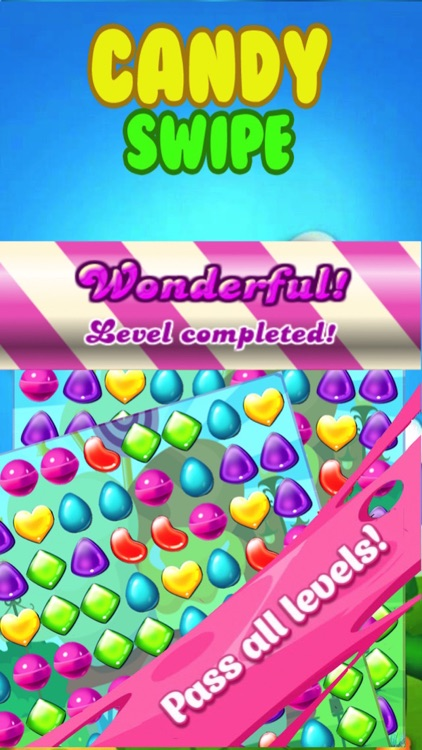 candy swipe mania blitz match candies puzzle game for boys and girls
