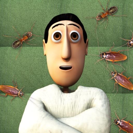 弗莱迪踩蟑螂 Frantic Freddy Bug Stomp【害怕小强者慎入】