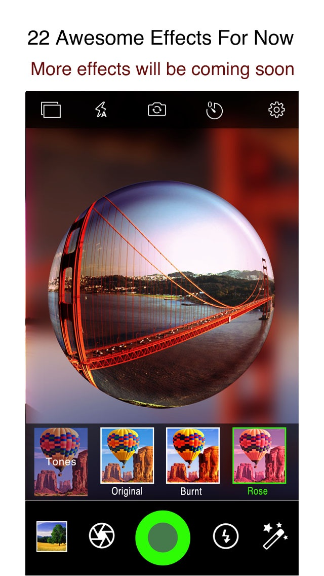 download iPixelCamera - Powerful Camera with Old Films, Fisheye Lens, Crystal Scenes and Color Flashlights apps 4
