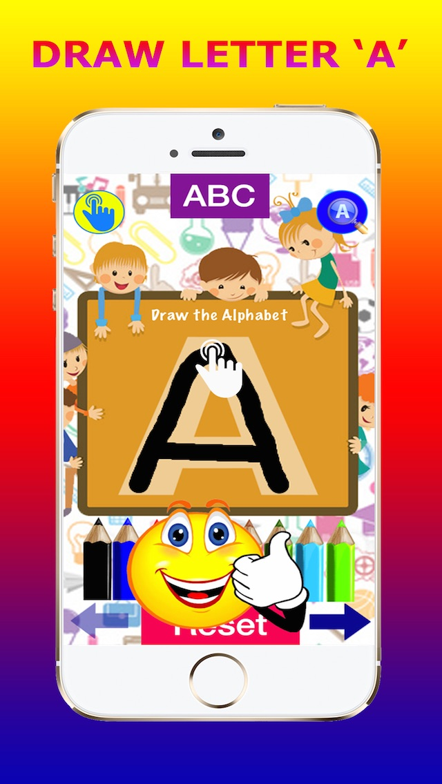 Screenshot #1 pour ABC for Kids - Tracing Alphabets