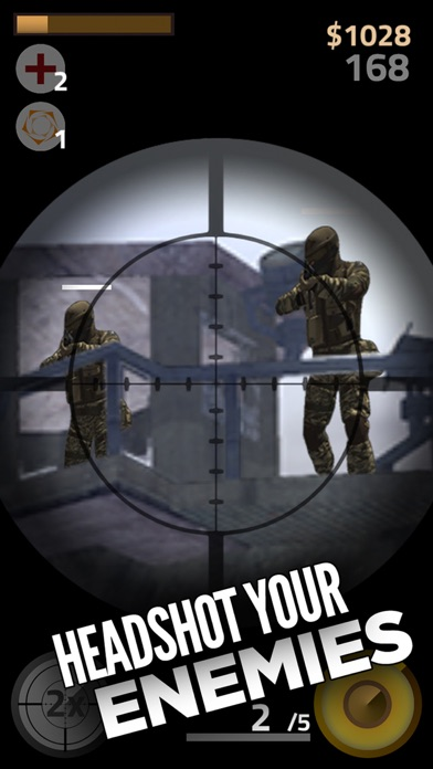 Contract Sniper Killer - Trigger guns and shoot to kill army assassin shooter screenshot three
