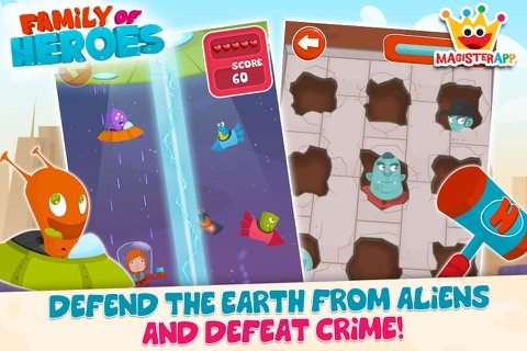 Family of Heroes for Kids screenshot 3
