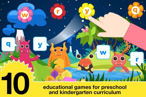 Preschool All In One Basic Skills Space Learning Adventure A to Z by Abby Monkey® Kids Clubhouse Games screenshot 2