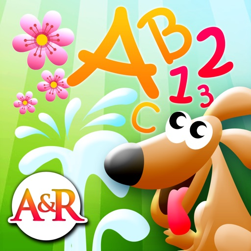 Magic Garden with Letters and Numbers - A Logical Game for Kids iOS App