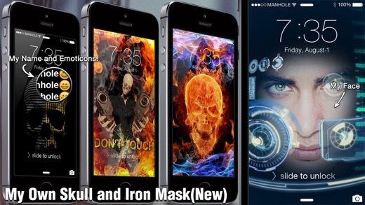 Magic Screen Pro - Customize your Lock & Home Screen Wallpaper for iPhone & iPod Touch (iOS8) Screenshot