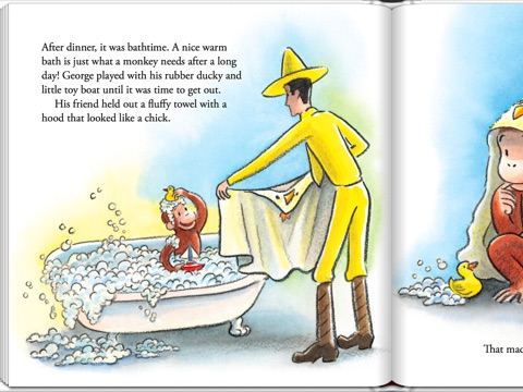 screenshot 4. Sweet Dreams  Curious George by H  A  Rey on iBooks