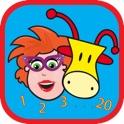 Juf Jannie leert Jop tellen icon