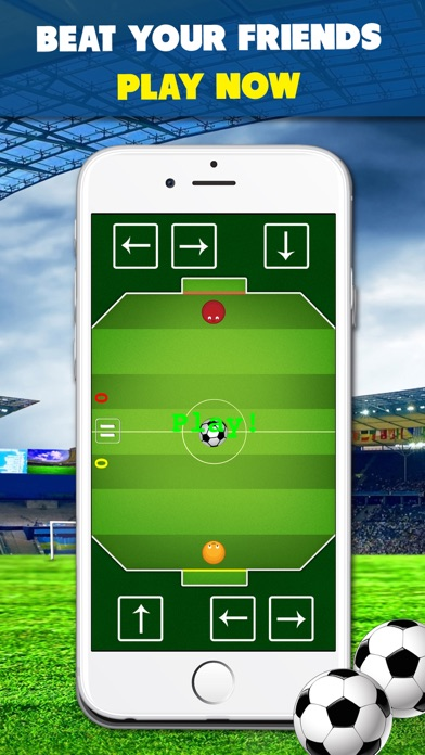 download Chaos Soccer Scores Goal - Multiplayer football flick apps 2