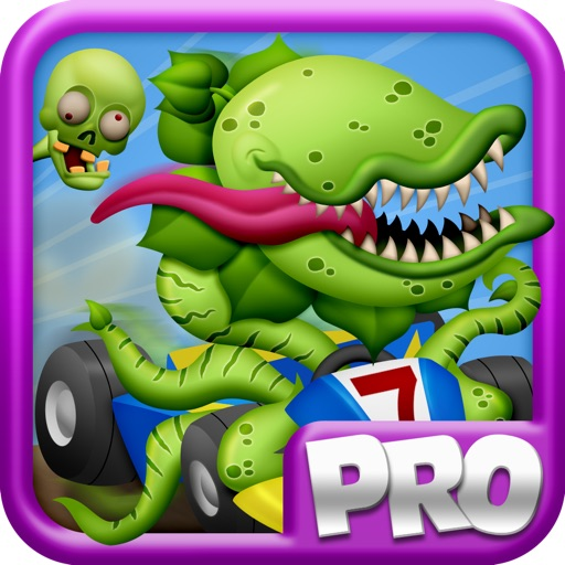 Zombie Kart Hill Racing : A Road Trip of Turbo Carnivore Plants Go Karting Car Racer Game – PRO Fun Kids Version iOS App