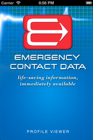 Emergency Contact Data screenshot 1
