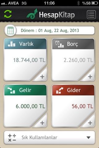HesapKitap Kişisel Finans screenshot 1