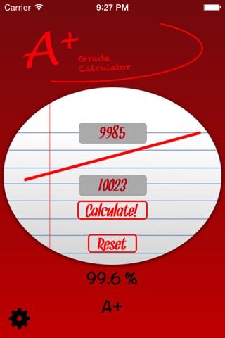 A+ Grade Calculator screenshot 4