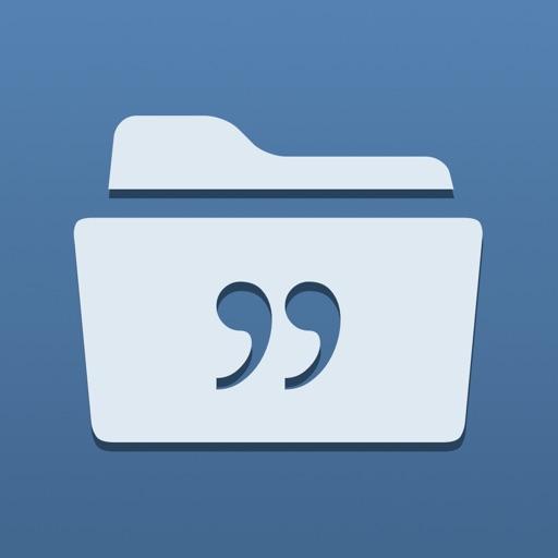 每日一句:Quotes Folder