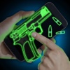 Simulator Neon Weapon Prank