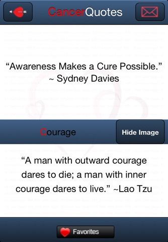 Cancer Quotes screenshot 4