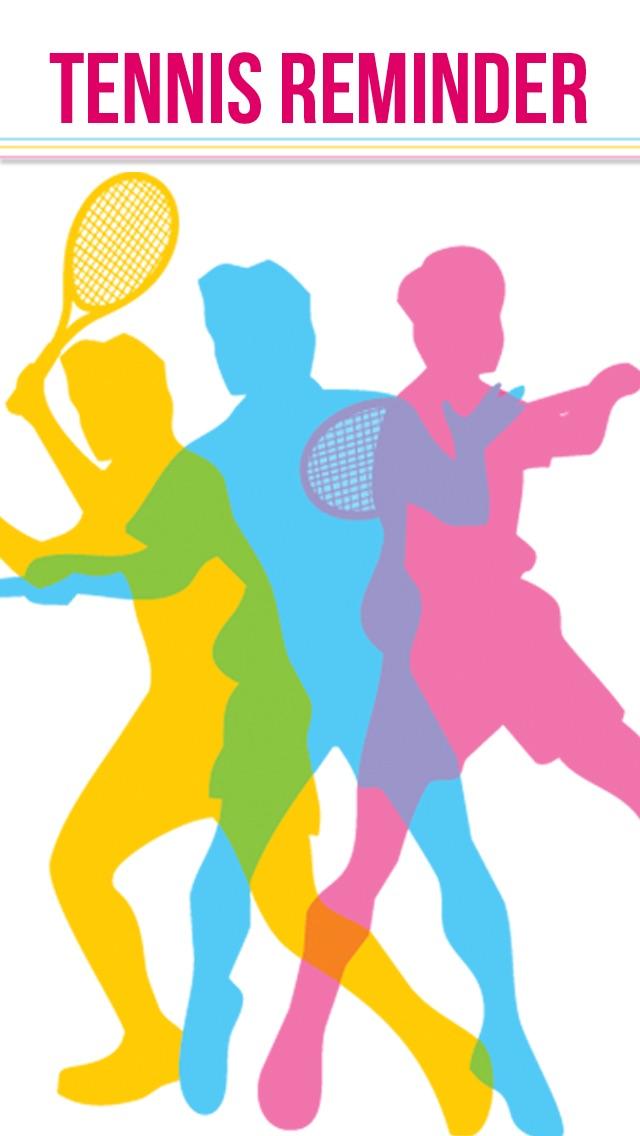 Теннис напоминание App - Расписание активности Расписание Напоминания-СпортСкриншоты 1