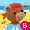 Les joies de l'été : apprends les quatre saisons avec Petit Ours Brun.