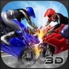 Fast Motorcycle Vs Car Derby Driver 3D