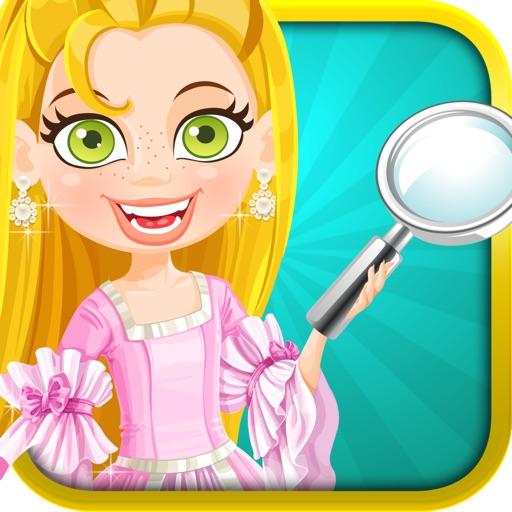 Hidden Magical Princess Fashion Castle Girl iOS App