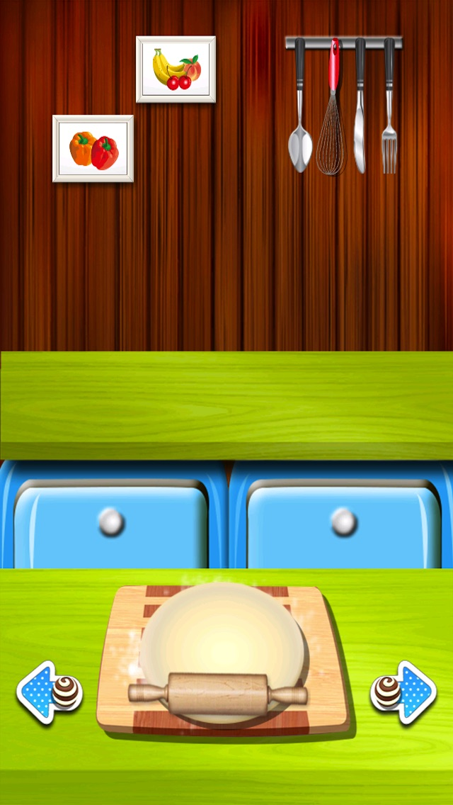 クッキーメーカー - ピザの愛好家、ケーキ、キャンディー、ハンバーガー、チョコレート、アイスクリームのための無料のホットクッキングゲーム - 女の子&ティーンのための無料ゲームのスクリーンショット2