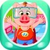 三只小猪和妈妈的亲子装 早教 儿童游戏