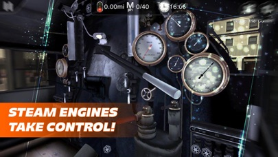 Train Driver Journey 4 - Introduction to Steam app