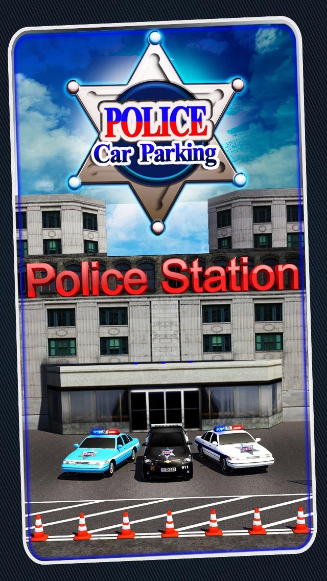 Screenshot #1 pour Police Car Parking 3D : Awesome Cop Training Simulator