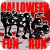 Halloween Fun Run - Walking Fast to Survive or Dead with Zombie