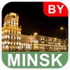 Minsk, Belarus Offline Map - PLACE STARS
