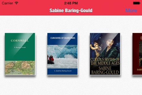 Sabine Baring-Gould Collection screenshot 2