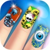 Monster Fashion Nails Makeover: Scary Girl fancy manicure saloon PRO