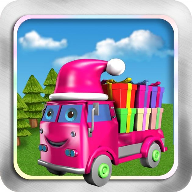 camion de cadeau de no l d corer l 39 arbre de no l enfants jeu gratuit hd dans l app store. Black Bedroom Furniture Sets. Home Design Ideas