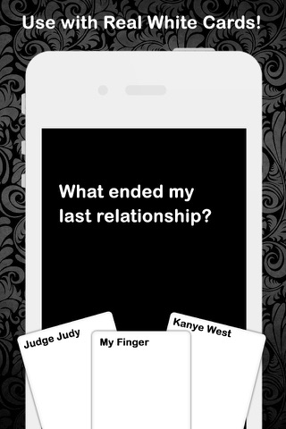 Black Card - For Cards Against Humanity Game Expansion Pack screenshot 1