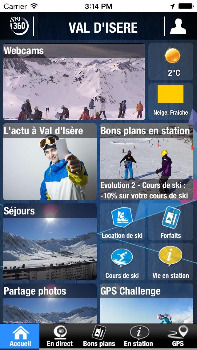 VAL D'ISERE par SKI 360 (bons plans, infos ski, séjours, GPS challenge,…)Capture d'écran de 1
