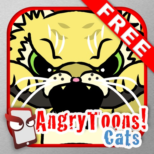 AngryToons Cats Free - The Angry Cartoon Cat Simulator iOS App