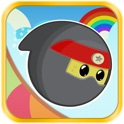 Tiny Ninja Jump - Free Cute Multiplayer Flying Game icon