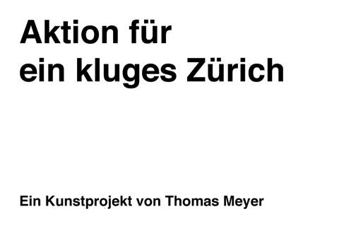 Aktion für ein kluges Zürich screenshot 1